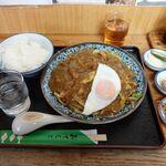 さつき - 料理写真:カレー焼うどん 920円