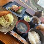 魚真 - 魚真定食1000円(税込み)