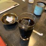 うなぎ はす沼 - アイスコーヒー