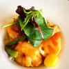 沙羅 - 料理写真:エビとベーコンのトマトチリソース