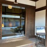 蘇山荘 - お店入り口