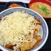 吉野家 - 料理写真:チーズ豚丼