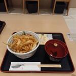 白えび亭 - 白えび天丼、1,490円。