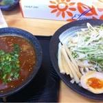 虎の爪 - もつぁ〜の つけ麺