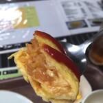 昔ながらの洋食 オールドキッチン - 玉子の厚みと火の通り、ライスとの密着度な。
