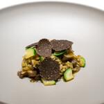 レストラン オオツ - 2021.1 地物黒鮑のアロス・メロッソ