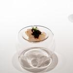 レストラン オオツ - 2021.1 富山産ボタン海老のマリネ キャヴィア添え
