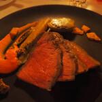 ブルーバイユー・レストラン - 料理写真:2021/1/8 ランチで利用。 シェフのおすすめコース。 ローストビーフ、グレイヴィーソース