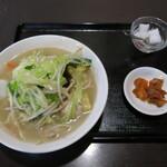 Chuukabishokuasahitei - お盆で提供!!
