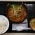 かつや - 料理写真:胡麻坦々チキンカツ定食