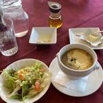 ルミディ - サラダ、スープ、パン用のオリーブオイル、バター