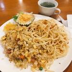 びーんず - 麺&飯。炭水化物&炭水化物。