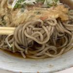 ういーん - 蕎麦アップ