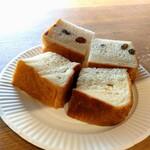 遅刻のすすめ - 試食用パン