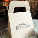 Kissamadoragu - 食べきれない場合はお持ち帰り専用の箱に入れてくれるポスピタリティ