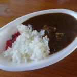 葉山食房 ミラマール - 料理写真:ビーフカレー
