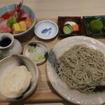 蕎麦居酒屋と和菓子の店 京乃北 - 自然薯蕎麦と海鮮丼