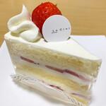 パティスリー ル・シエル - ショートケーキ 470円