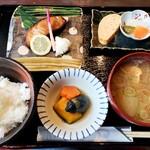 よね蔵 - 銀鱈味噌漬け焼きランチ 1429円