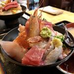 そば処 さか本 - 海鮮丼 1,350円税込み