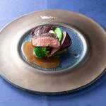 エール - 牛フィレ肉のポアレ