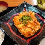 美味しい炭火焼き居酒屋 金魚 - 日替わり定食(600円)♪