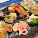 赤坂武蔵 - 前菜盛合せ