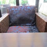 ナガハマコーヒー - この席が好きです