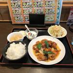 台湾料理 太和菜工坊 - スブタ。 美味し。