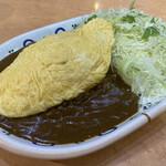 バーグ - オムレットチーズカレー 930円