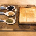 144463879 - ナチュラル食パン+ジャム3種