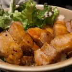 魚・食・笑 ちょうど - スタミナ豚丼