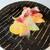 スコルピオーネ 吉右 - 前菜はアートのように華やかな盛り付け!トロッと脂が乗りまくった寒ブリに、新鮮で色鮮やかな野菜や柚子皮でサッパリと