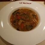 ikebukuro LA BETTOLA da Ochiai - いろいろ野菜のスープ