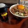 ラーメン一鶴 - 料理写真:Cセット 鶏そぼろ飯