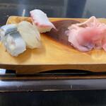 すきやばし次郎 - コハダ、ヒラメ、タコ