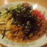 清香楼 - 坦々冷麺(2012.8)
