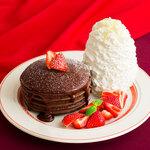 エッグスンシングス - ★期間限定★とろけるフォンダンショコラパンケーキ