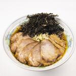 ラーメン 菅家 - 黒磯チャーシュー麺1100円