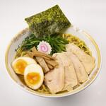 ラーメン 菅家 - 鶏白湯トッピング全部乗せ