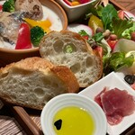 キヨミズノジカン 泡と葡萄と - ワンプレートランチ