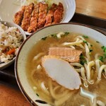 Ganekosoba - そば定食