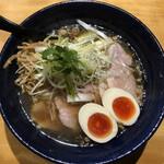 鴨だしらぁ麺 轟 - 京鴨だし 特製醤油らぁ麺(1150円)