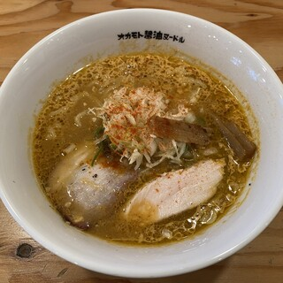 オカモト醤油ヌードル - 料理写真:期間限定 米麹味噌ヌードル 900円