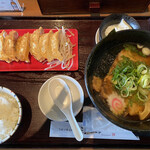 浜太郎 - ラーメンセット。+チャーシューメン。小ライス。