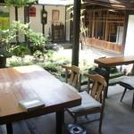 速魚川 - こちらが喫茶スペース。