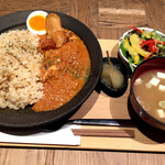 イナズマ お米研究所 - 発酵カレー定食
