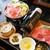 かごの屋 - 上撰牛すき焼き定食 + 十穀ご飯 ¥1,639 + ¥55(税込)