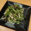 Shusaisobashodai - 料理写真:ドレッシングは胡麻でした。