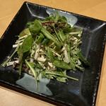 酒彩蕎麦 初代 - 料理写真:ドレッシングは胡麻でした。